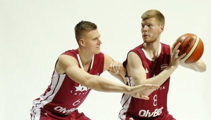 Porziņģis, Kurucs un Bertāni piedalīsies 'Basketball Without Borders' nometnē Rīgā