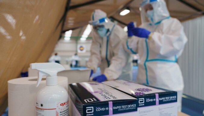Igaunijā inficēšanās ar koronavīrusu atklāta vēl 383 cilvēkiem; deviņi miruši