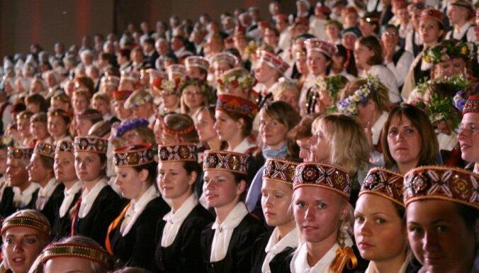 Eksperts: dziesmu svētki, iespējams, ir Latvijas 'Nokia'