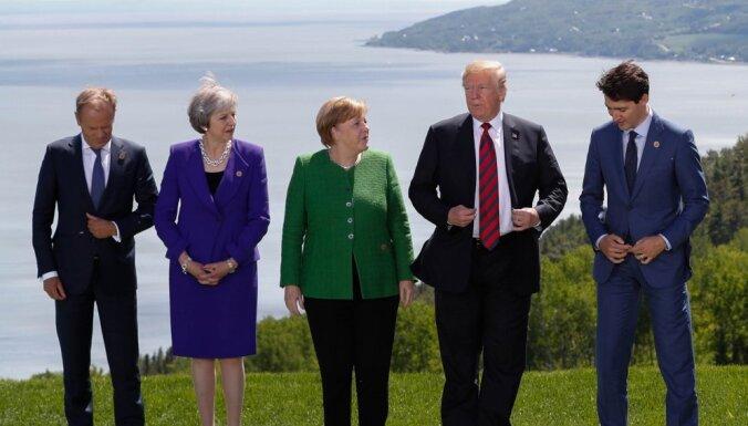 Страны G7 объявили о создании механизма защиты от российской пропаганды