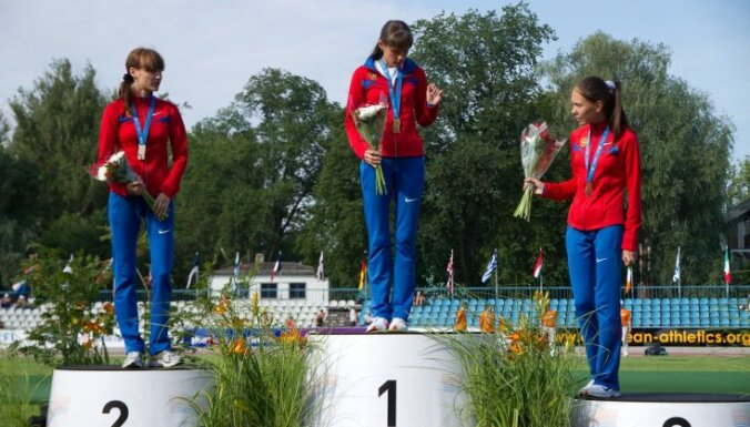 Krievu soļotāja Eiropas junioru čempionātā Tallinā labo pasaules rekordu 10 km distancē