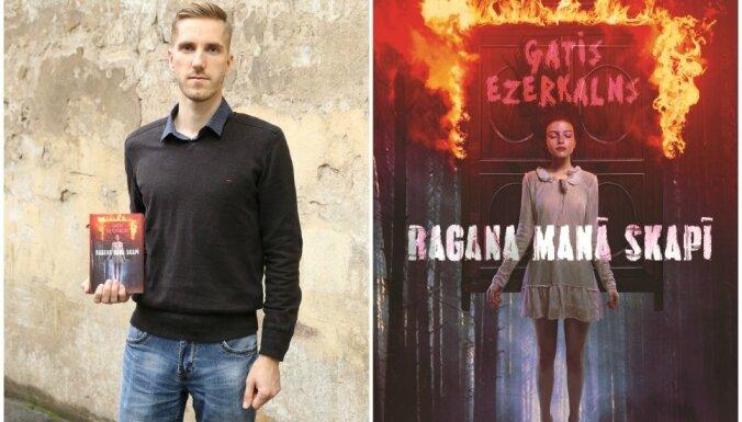 Klajā laists latviešu fantāzijas žanra romāns 'Ragana manā skapī'