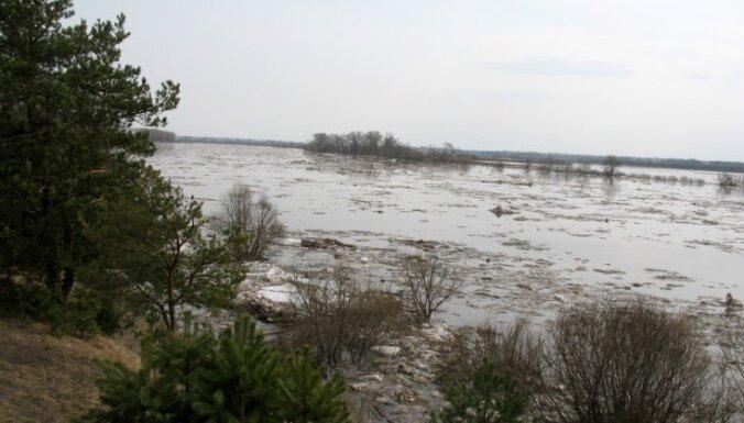 Daugavā pie Daugavpils pēdējās stundās ūdens līmenis nav būtiski paaugstinājies