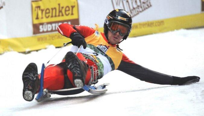 Latvijas Skolu ziemas olimpiskajā festivālā iekļauta arī īpaša kamaniņu braukšanas stafete