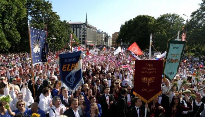 ФОТО: Шествие Гран-при наций и Европейской хоровой олимпиады