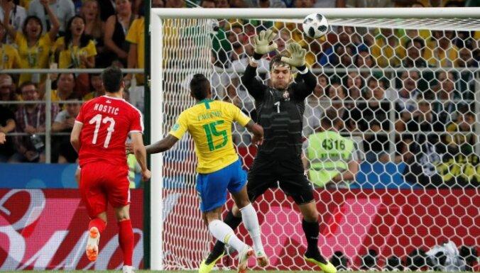 Бразилия и Швейцария прошли в 1/8 финала чемпионата мира, Сербия едет домой