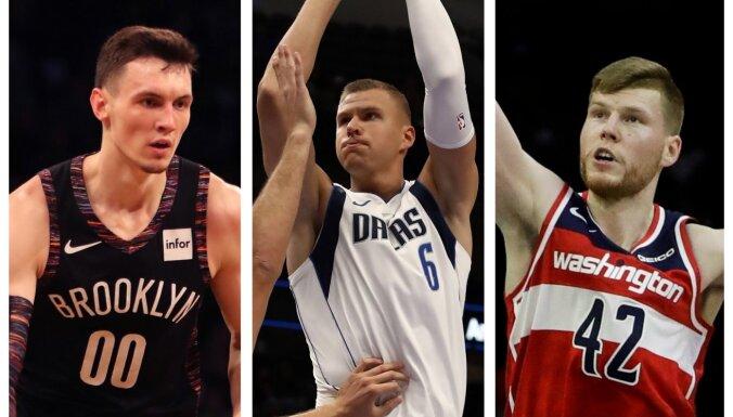 Jauni klubi, izcili komandas biedri un septiņas savstarpējas spēles – Latvijas basketbolisti uzsāk jaunu NBA sezonu