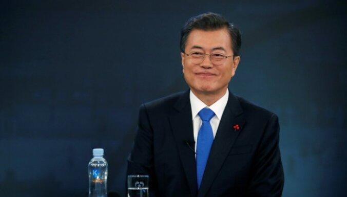 Dienvidkoreja un ASV apņēmušās stiprināt sadarbību