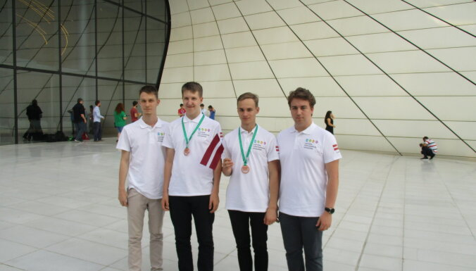 Latvijas skolēni Starptautiskajā informātikas olimpiādē iegūst divas bronzas medaļas