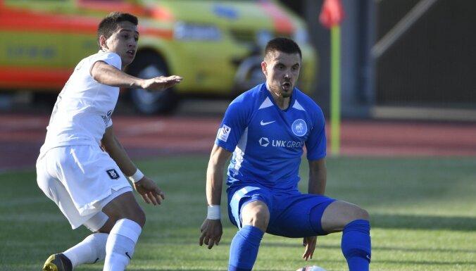 RFS ar sāpīgu zaudējumu izstājas no UEFA Eiropas līgas kvalifikācijas
