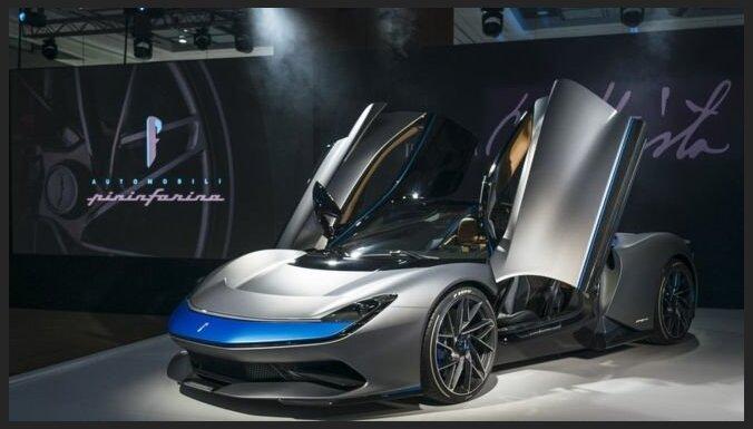 ФОТО: В Женеве показали самый мощный в мире автомобиль. Он электрический