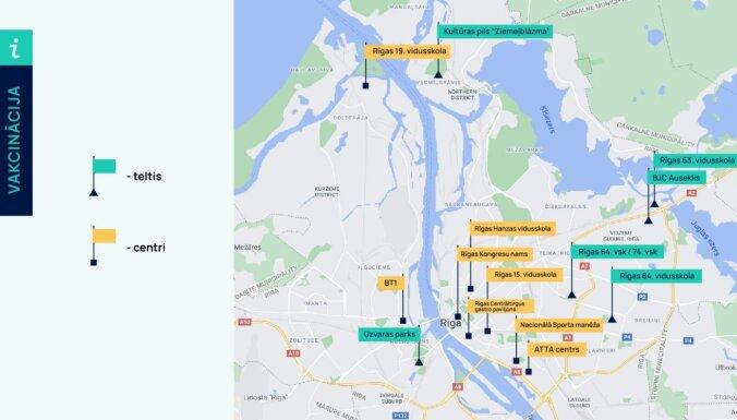 Bruņotie spēki sniegs atbalstu vakcinācijas punktiem Rīgā