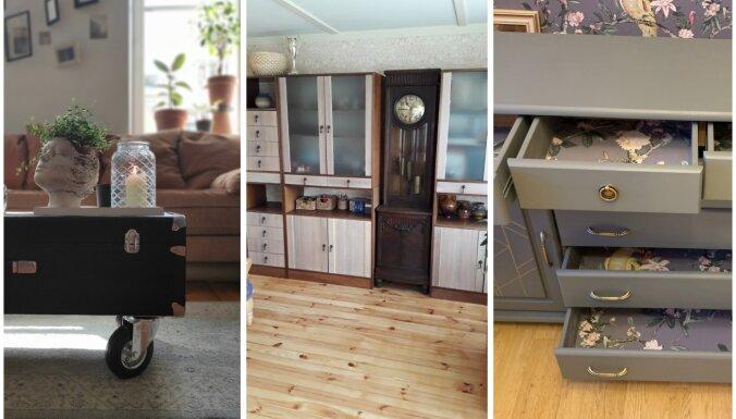 Foto: 'Māja&Dārzs' mēbeļu atjaunošanas konkursa uzvarētāji