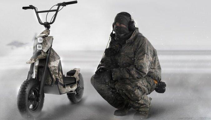 ВИДЕО: Латвийская компания будет производить военные самокаты