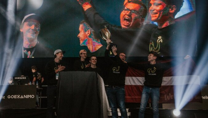 Esporta 'Counter-Strike: Global Offensive' labākais spēlētājs Latvijā - 'broky' jeb Helvijs