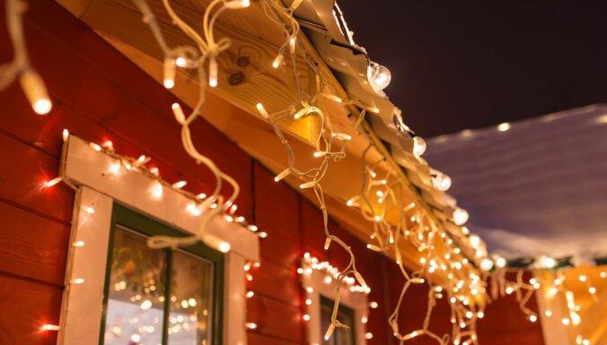 Pirmajos Ziemassvētkos daudzviet gaidāmi nokrišņi, bet Rietumlatvijā uzspīdēs saule