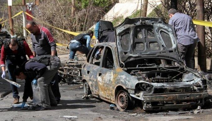 Foto: Bumbas sprādzienā Ēģiptē bojā gājuši divi cilvēki