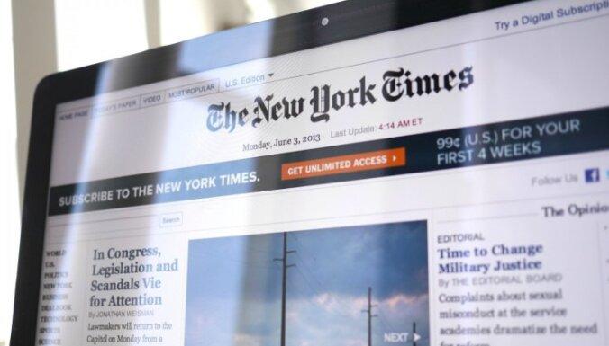 """New York Times получила Пулитцеровскую премию за """"разоблачение хищничества режима Путина"""""""