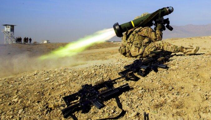 Ukraina jau saņēmusi amerikāņu 'tanku bendes' 'Javelin'