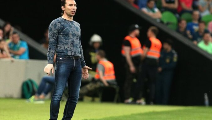 Anzhi head coach Alexander Grigoryan