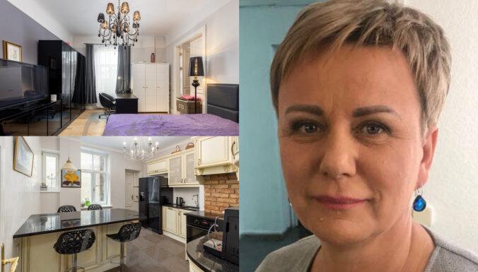 ФОТО: Квартира, которую Линда Мурниеце продает за 240 тысяч евро