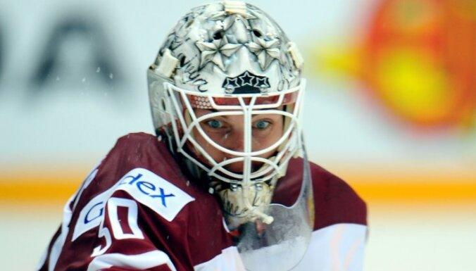 Merzļikins NHL jauno talantu pārbaudes turnīra otrajā spēlē piedzīvo zaudējumu