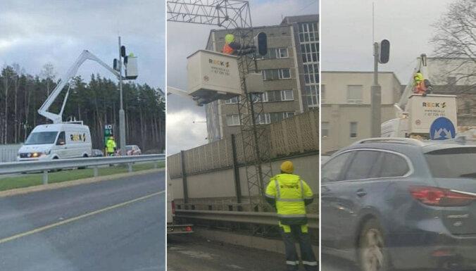 Фоторадары на дорогах снова переворачивают в обратную сторону, полиция объясняет причины