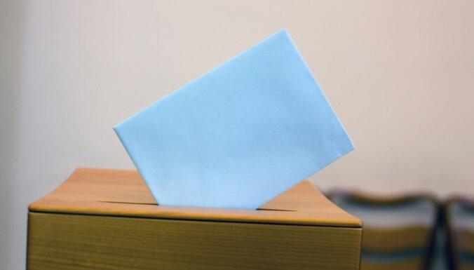 Līdz pulksten 8 nobalsojuši 1,55% balstiesīgo