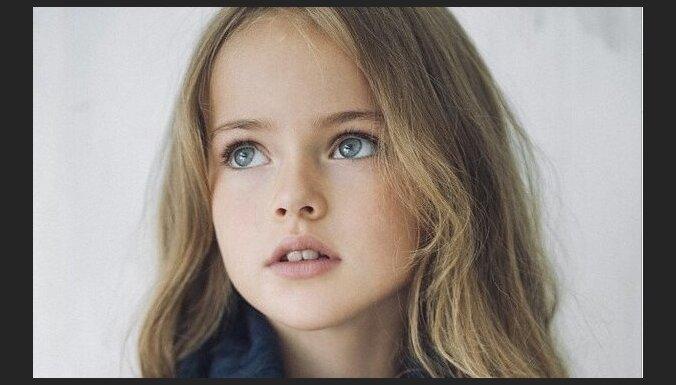 Krievu modeli sauc par skaistāko bērnu pasaulē