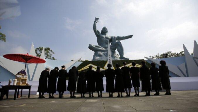 Япония вспоминает жертв атомной бомбардировки Нагасаки (+архивные фото)
