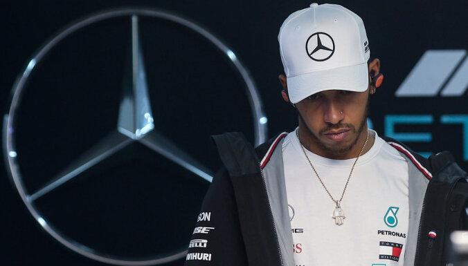 Hamiltonu uztrauc konkurences trūkums F-1