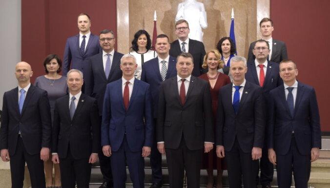 Выездное заседание правительства в Алуксне обойдется в 3500 евро