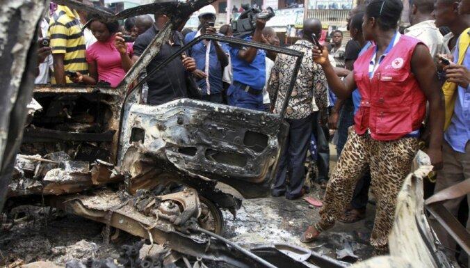 Sprādzienā pie baznīcas Nigērijā 12 bojāgājušie