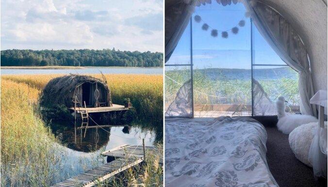 ФОТО. Бобровый и Лебединый домики – необычное место для отдыха на озере Усмас