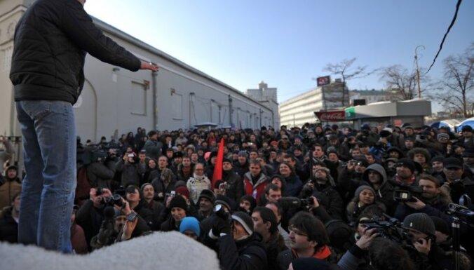 """Удальцов опровергает версию СКР о """"грузинской руке"""""""