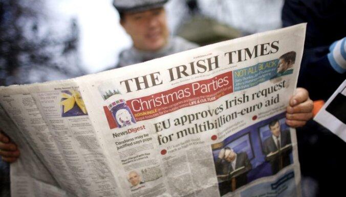 Īrijā notiek parlamenta pirmstermiņa vēlēšanas