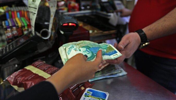 Inflācija Irānā šogad varētu sasniegt 40%, prognozē SVF