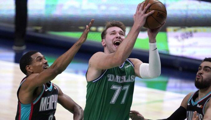 Dončičs jau otro sezonu pēc kārtas iekļauts NBA pirmajā simboliskajā izlasē