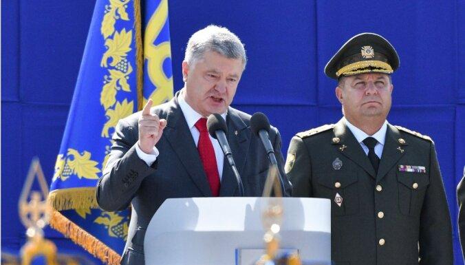 Порошенко обещает вернуть Крым Украине сразу после выборов президента