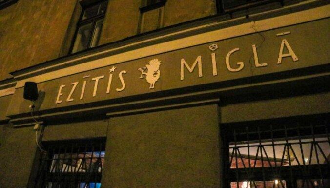 С террасы ресторана Ezītis miglā ночью украли восемь столиков