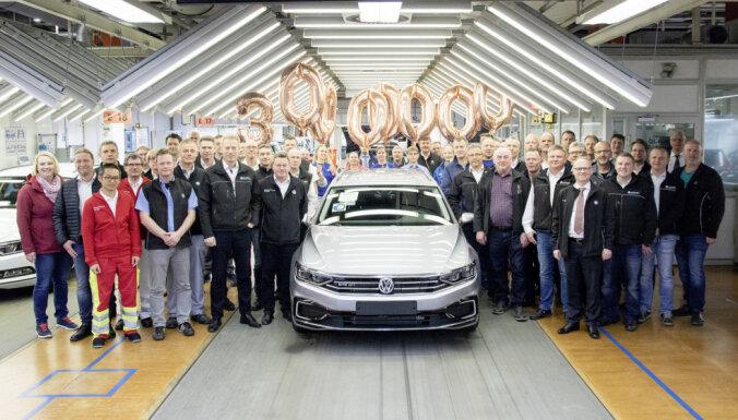 'VW Passat' kļuvis par vispārdotāko vidējās klases auto vēsturē