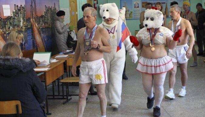 За пределами России за Путина проголосовали 84% избирателей, в Латвии — 95%