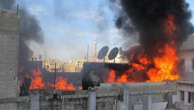 Cilvēktiesību organizācija: Sīrijā notiekošajos nemieros nogalināto skaits pārsniedz 10 tūkstošus