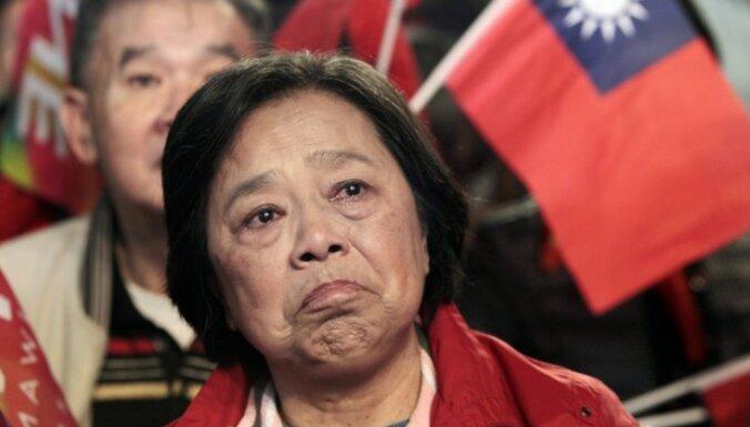Ķīnas valsts mediji brīdina jauno Taivānas prezidenti atturēties no neatkarības kursa