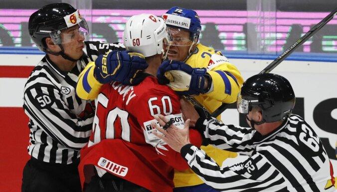 Pasaules hokeja čempionāts: 18. maija spēļu apskats