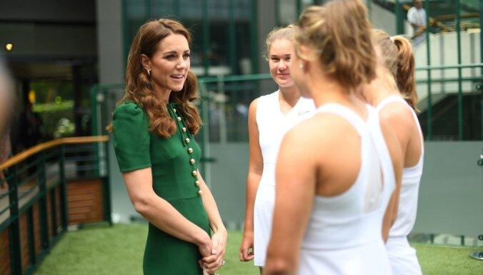 Кейт Миддлтон оказала особую честь юной латвийской теннисистке