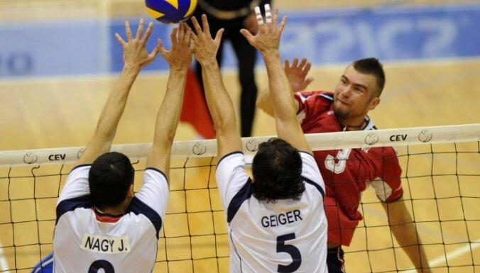 Волейболисты Латвии остались без Олимпиады