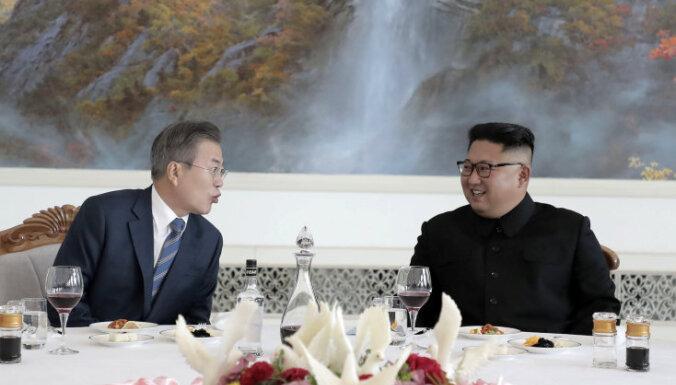 КНДР и Южная Корея договорились о денуклеаризации и отводе военных