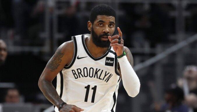 'Nets' zvaigzne Ērvings iebilst pret NBA sezonas atsākšanu