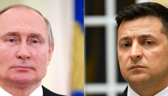 Putins atbild Zelenska aicinājumam, bet tikties vēlas Maskavā